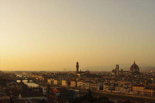 黄昏フィレンツェ