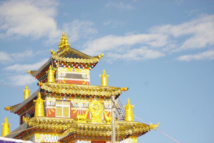 ラルンガルゴンパの塔 (2)_R