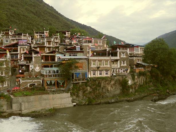 馬爾康:チベット村 (2)_R
