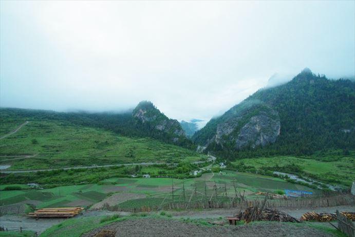 迭部の朝の景色 (2)_R