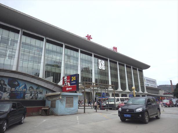 蘭州駅到着 (2)_R