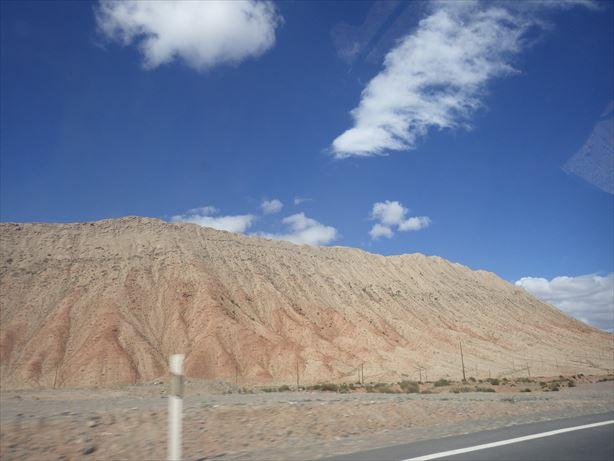 中国キルギス国境の景色がきれいだよ!