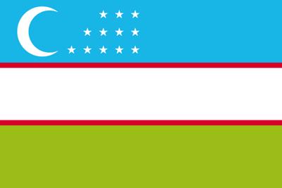 ウズベスタン国旗