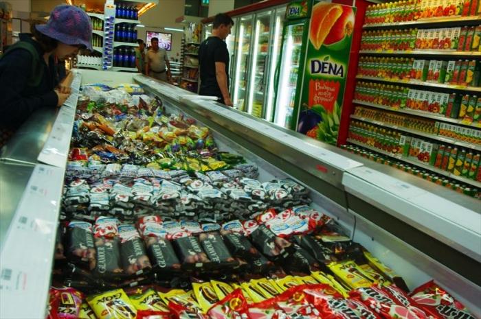 宿近くのスーパーでお買い物 (7)
