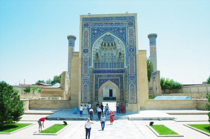 青いモスク! (3)
