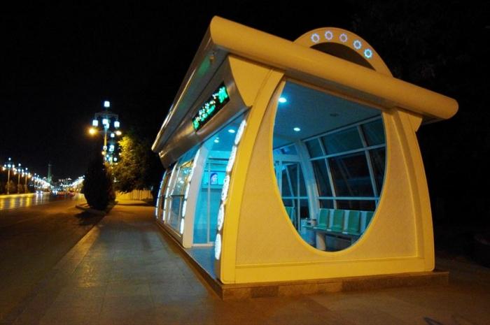 アシガバート夜の街歩き (3)