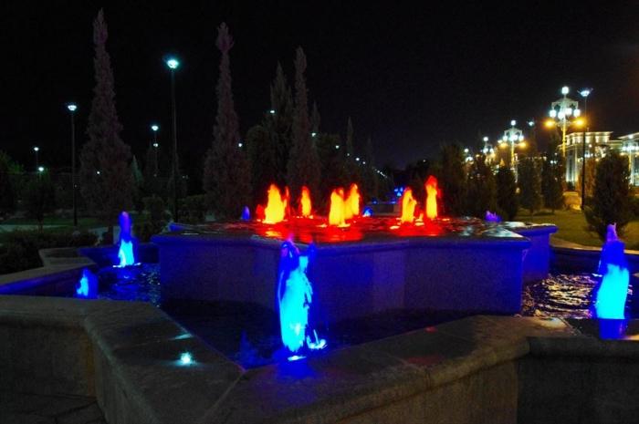 アシガバート夜の街歩き (10)