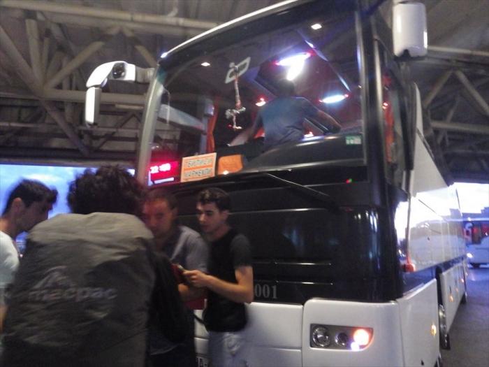 夜行バスでトビリシへ (2)