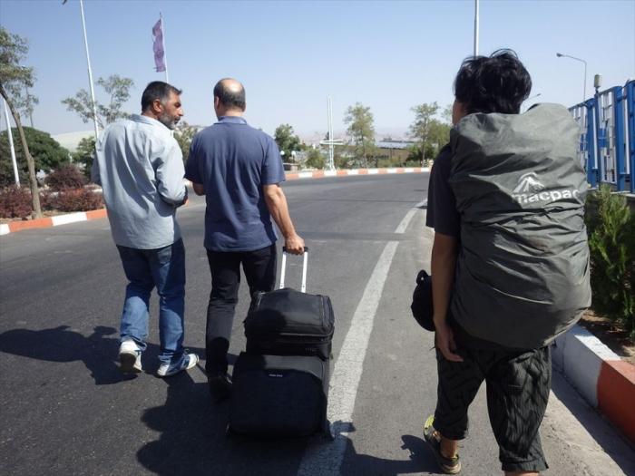 イランへ国境越え