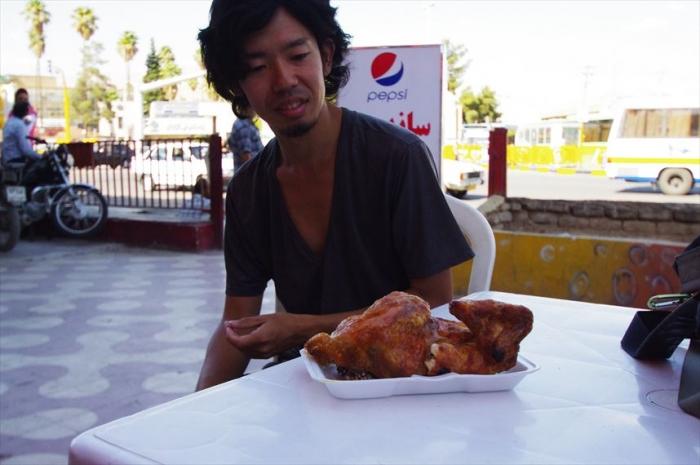 シーラーズでお昼ごはんチキン (3)