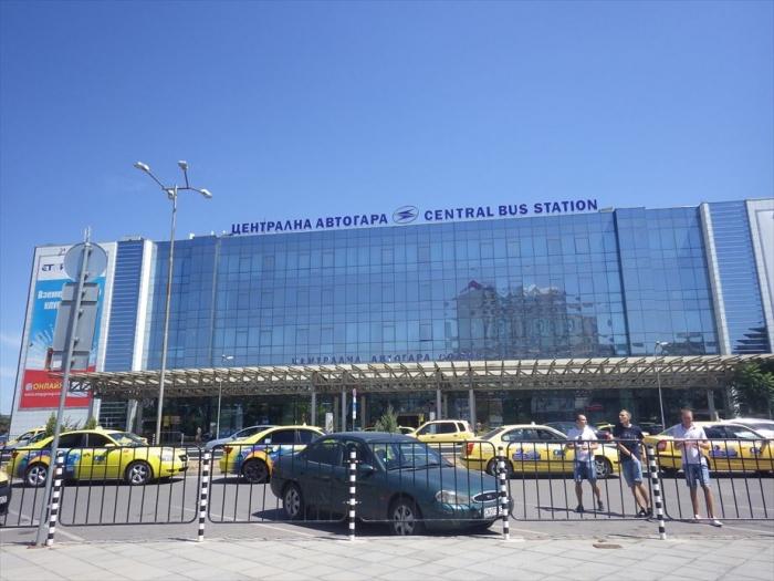 ソフィアのバスターミナル⇒キエフへ (2)