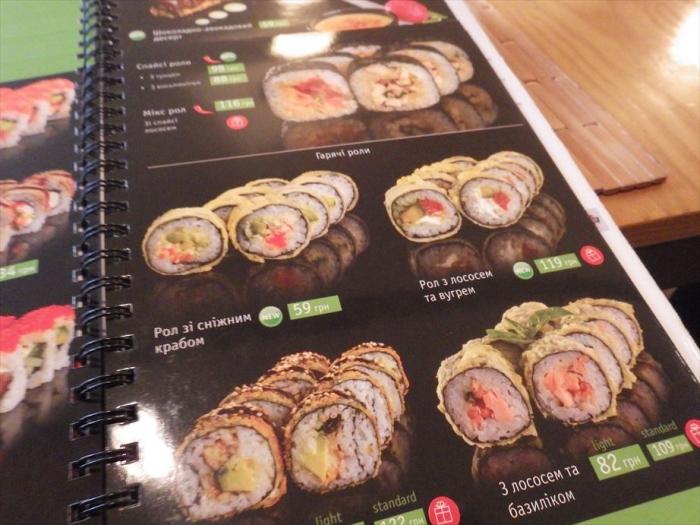 キエフのお寿司屋さん! (7)